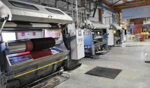 Teinture industrielle au jigger