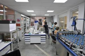 Notre laboratoire de teinture