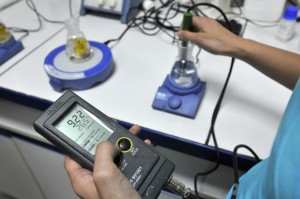 Détermination du pH de l'extrait acqueux
