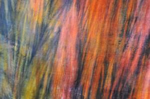 Teinture Ombré Fizzy sur tissu velours soie viscose